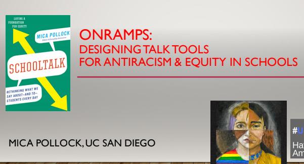 UC Berkeley GSE Talk: Onramps